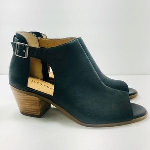 Lucky Brand Barimo Black Bootie Shoes